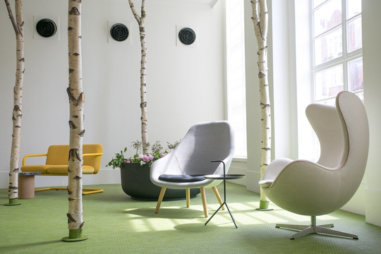 Scandinavian Mid Summer Café and event space at the Habitat Platform Gallery  · image 3