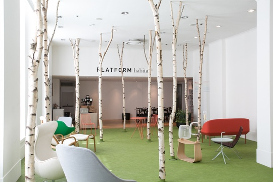 Scandinavian Mid Summer Café and event space at the Habitat Platform Gallery  · image 1