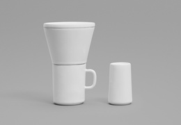 Time in - Pour Over Coffee Maker & Mug Set