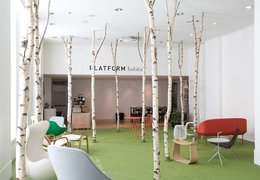 Scandinavian Mid Summer Café and event space at the Habitat Platform Gallery