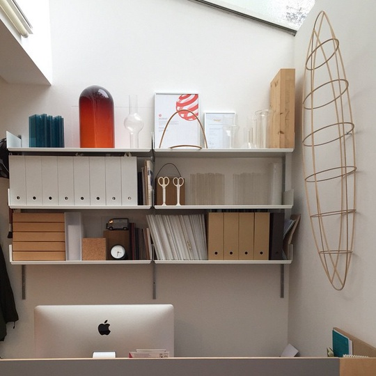 Studio... #michaelsodeaustudio #michaelsodeau #simplicity #design #models #modern #prototype #stationery #studio #reddot #reddotaward #vitsoe #anything #anythingdesign #neatandtidy