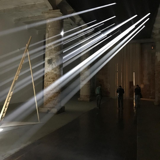 Architectural Biennale... #venezia #biennaledivenezia #design #architecture #light