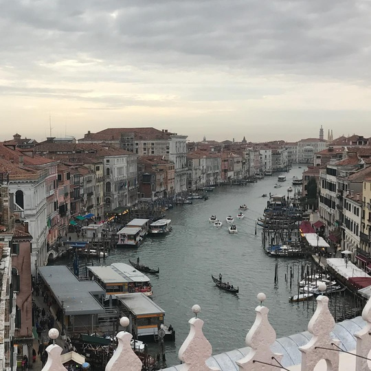 View from the roof of Fondaco dei Tedeschi by Rem Koolhaas... #venezia