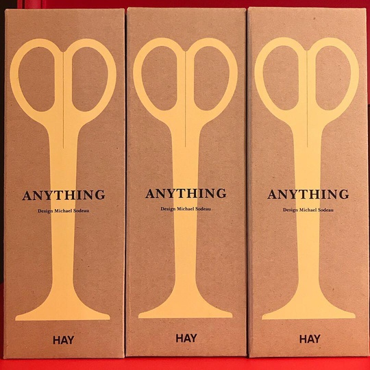 ANYTHING Stationery for HAY... #Milano #salonedelmobile #designweek #simplicity #design #stationery